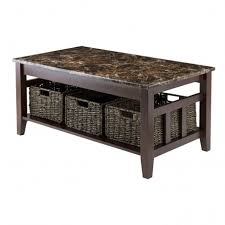 Painted Wood Coffee Table Admirable Coffee Table With Grey Marble Top And Wood Frame With