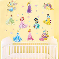 Removable Nursery Wall Decals Tale Wall Stickers Princess Poster Diy Removable