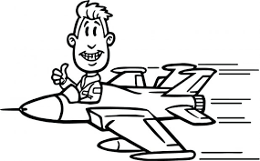 jet plane coloring pages army airplane book pdf page flying