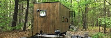 inhabitat spends the night in a harvard designed getaway tiny