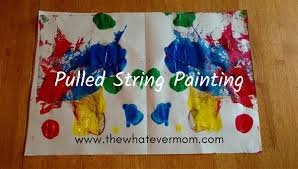 is paint any pulled string painting any kid can do