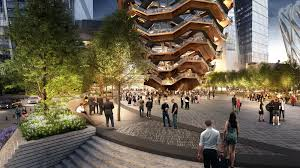 New York House Related Unveils Thomas Heatherwick U0027s Honeycomb Sculpture At Hudson