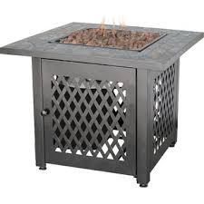 rectangle propane fire pit table rectangular propane fire pit wayfair
