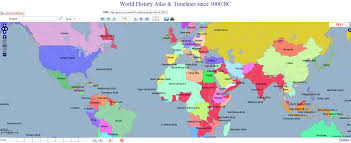 map of world interactive map 5015 years of world history 1931 as exle for