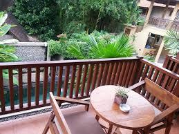 chambre prive balcon privé chaque chambre picture of villa ubud