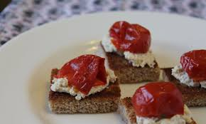 pate canapes smoked tofu pate canapes vegan appetizer recipes the