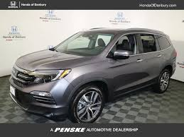 grey honda pilot new honda pilot at honda of danbury serving putnam county ny