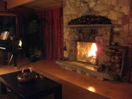 stone fireplace cabinorganic