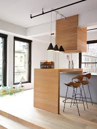 cuisine estrade ci dessous la cuisine prend place sur une estrade en bois