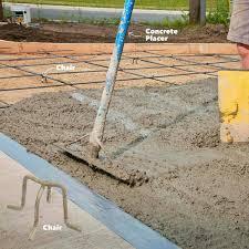 how to pour a perfect concrete slab family handyman