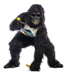 gorilla halloween mask harambe costume idea wholesale halloween costumes blog