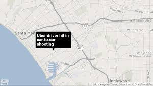 Los Angeles Gang Map by Uber Driver Wounded In Crossfire Of Possible Gang Related Shooting