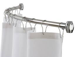 curved curtain rod curtain rod for corner regarding imposing