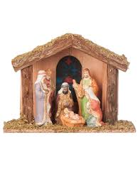 Outdoor Plastic Light Up Nativity Scene by Light Up Nativity Scene Set Led Christmas Decoration Traditional