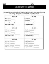 compatible numbers worksheet free worksheets library download