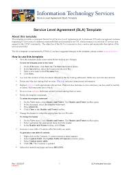 8 best images of customer service agreement template service