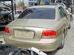 2002 hyundai sonata gl 2002 hyundai sonata used parts stock 003157