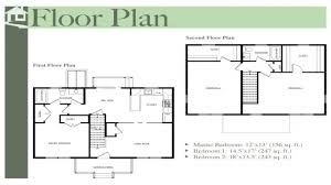 Georgian Floor Plan by Two Story Colonial Floor Plans Colonial Floor Plans Colonial Home