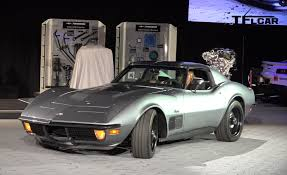 1971 chevy corvette stingray resto mod 1971 chevy corvette stingray with jimmie johnson sema