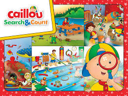 caillou u0026 count android apps google play
