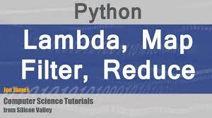Python Map Example Python Lambda Map Filter Reduce Functions Youtube