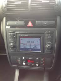 audi a3 s3 8l concert ii to double din rns d rare satnav installed