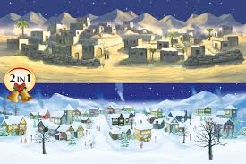 christmas and halloween background my village backgrounds bring your christmas village halloween