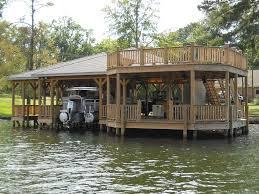 architecture awesome lake boat house using balcony railing also