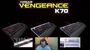 corsair k70 keyboard flashing scroll lock issue youtube