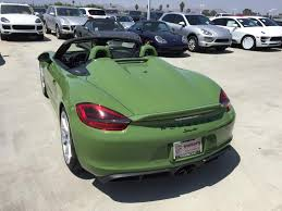 green porsche convertible new pts olive green arrived rennlist discussion forums pts