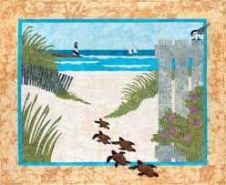 Beach Theme Quilt Sweet Season Quilts Sue U0027s Original Quilt Patterns