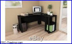 Computer Corner Desk by Corner Desk L Shaped Workstation Home Office Student Furniture