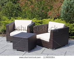 Patio Furniture Rattan Outdoor Furniture Stock Images Royalty Free Images U0026 Vectors
