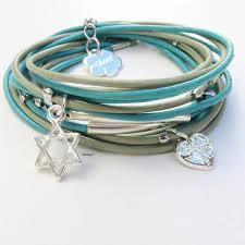 leather star bracelet images Chenz designs store bracelets star of david jewish bracelets jpg