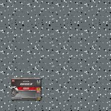 rust oleum rocksolid 152 oz dark gray polycuramine 2 5 car garage