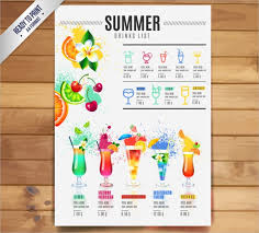 drink menu template free 21 cocktail menu templates free psd ai vector format