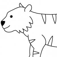 10 images of sabertooth animal coloring pages sabertooth tiger