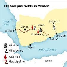 where is yemen on the map economy of yemen