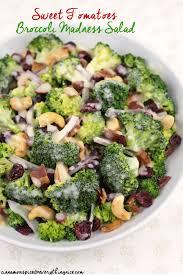 sweet tomatoes broccoli madness salad cinnamon spice