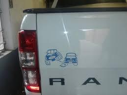 m toyota ford toyota bumper sticker done by m botha designs www