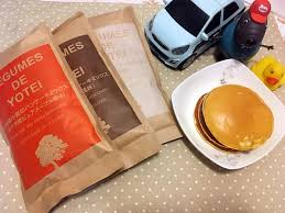 cuisiner l馮umes 北海道legumes de yotei小麥鬆餅粉 早餐桌上的快速選擇 小潔這一家