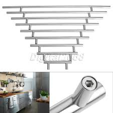 Stainless Steel Pulls Kitchen Cabinets Online Get Cheap T Bar Handles Aliexpress Com Alibaba Group