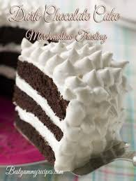 a delicious recipe for whipped cream frosted layered mocha cake