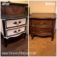 Bassett French Provincial Bedroom Furniture by For Love Of The Paint Before And After Black And White French