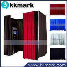 photo booth enclosure photo booth enclosure made by pipe and drape buy photo booth