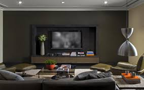 Livingroom Designs Modern Black Wall Interior Livingroom Design Ideas With Modern