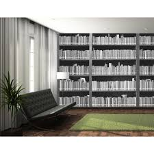 wall library 1 wall library book shelf retro photo giant 3 15 x 2 32m bookshelf 001