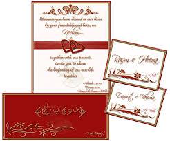 Marrige Invitation Cards Barat Invitation Card Paperinvite