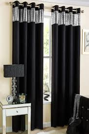 Black And White Thermal Curtains Curtains Black And White Uk Gopelling Net