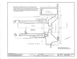 mission san diego de alcala floor plan architectural drawings california missions resource center